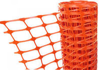 Ageing Resistance Plastic Safety Fence For New Building Construction Warning